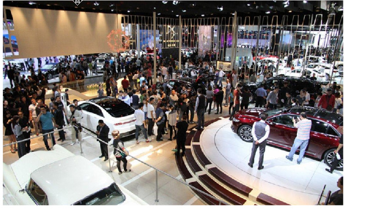 第十九届上海国际汽车工业展览会会场无线租赁项目