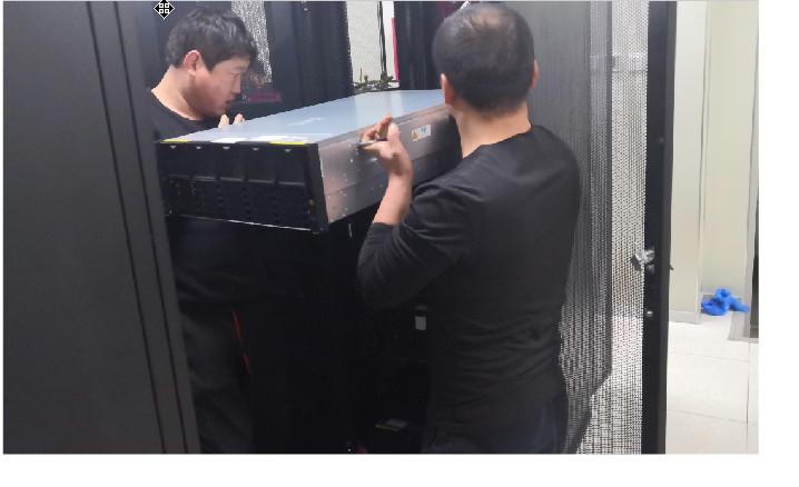 北京某国有房地产企业机房搬迁项目